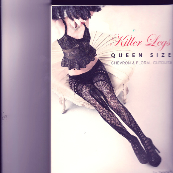 76be702852 YELETE Killer Legs Queen Size Fishnet Pantyhose